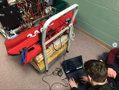 Code Makes the Robot Go!